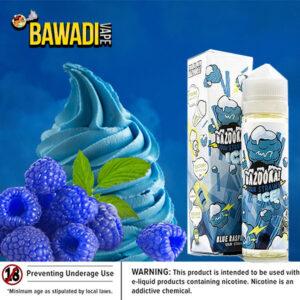 BAZOOKA BLUE RASPBERRY SOUR STRAWS ICE