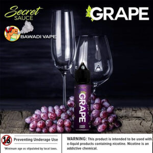 GRAPE BY SECRET SAUCE – 60 ML