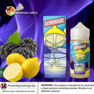 BLACKBERRY LEMONADE BY VAPETASIA Dubai UAE