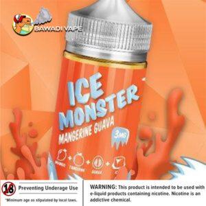 MANGERINE GAUVA ICE MONSTER BY JAM MONSTER - 100ML