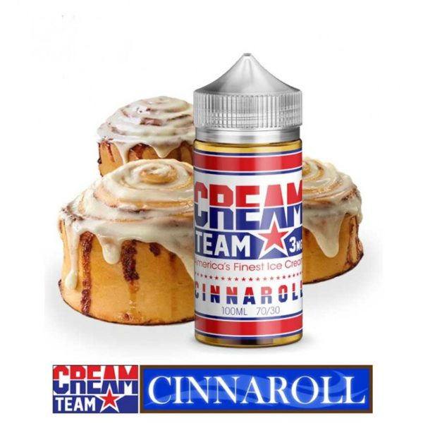 Cinnaroll by cream team dubai vape ejuice uae
