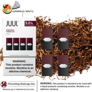 VIRGINIA TOBACCO PODS BY JUUL dubai