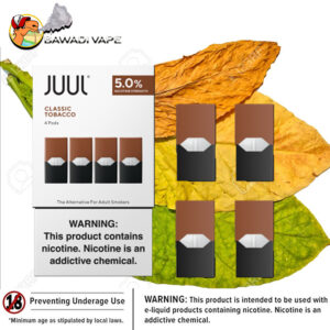 CLASSIC TOBACCO PODS BY JUUL dubai uae