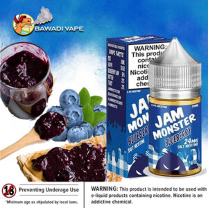 JAM MONSTER SALTS BLUEBERRY JAM DUBAI ABU DHABI