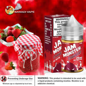 JAM MONSTER SALTS STRAWBERRY JAM DUBAI ABU DHABI