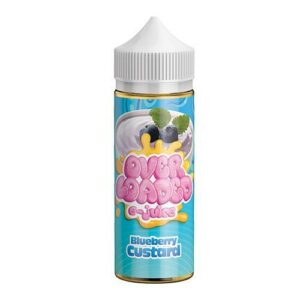 Blue berry custard by over loaded ejuice uae dubai vape