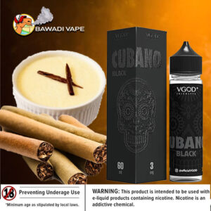 CUBANO BLACK BY VGOD – dubai