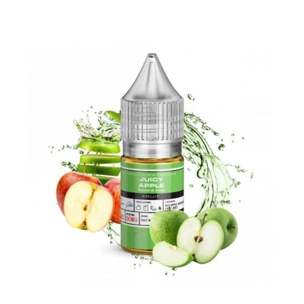BASIX NIC SALTS – JUICY APPLE BY GLASVAPOR UAE- Dubai Vaping