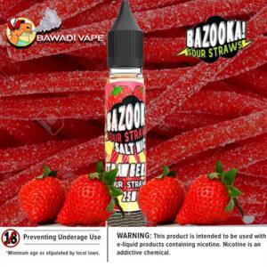 bazooka_Strawberry saltnic uae eliquid vape dubai