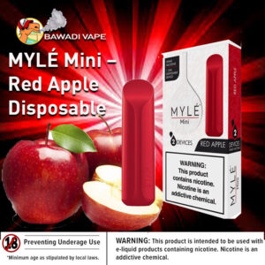 MYLÉ Mini – Red Apple Disposable Device DUBAI