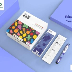 MICKO DISPOSABLE VAPORIZER BY VEIIK - BlUE ICE