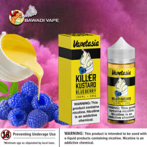 KILLER KUSTARD BLUEBERRY BY VAPETASIA Dubai