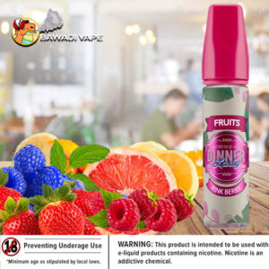 PINK BERRY BY DINNER LADY Bawadi vape dubai ksa
