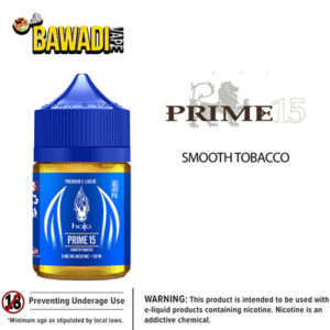 PRIME 15 - NUTTY TOBACCO BY HALO