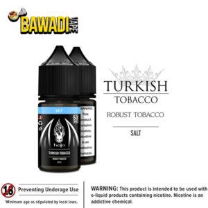 TURKISH – ROBUST TOBACCO SALT NIC BY HALO