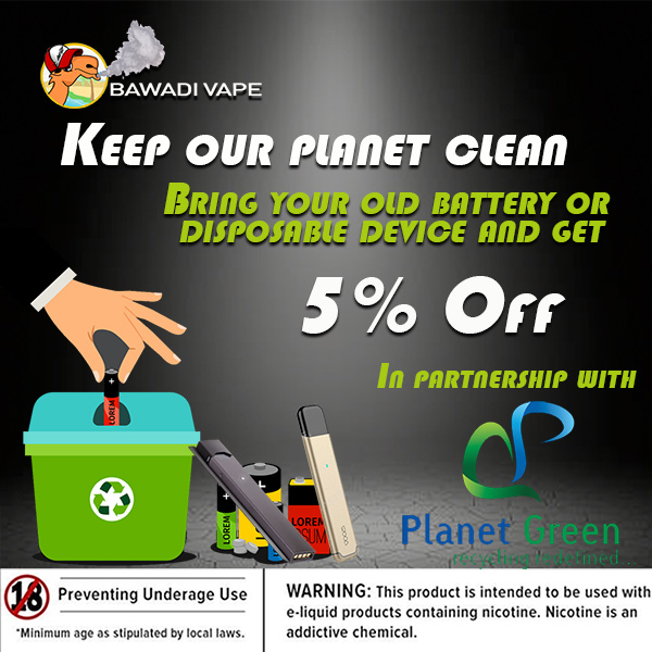 keep your planet clean recycle your batteries