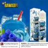 BAZOOKA BLUE RASPBERRY SOUR STRAWS ICE Dubai UAE