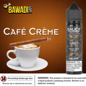 COFFEE CREME TOBACCO BY SAUCY CLASSICS