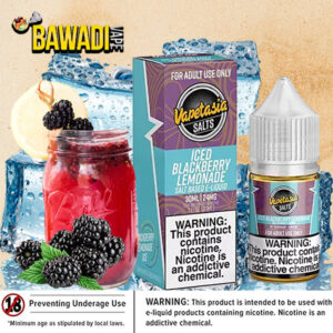 ICED BLACKBERRY LEMONADE SALT 30ML BY VAPETASIA