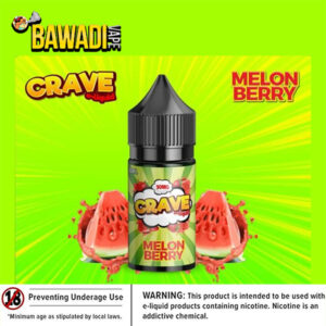 MELONBERRY BY CRAVE SALT NIC