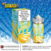 BANANA ICE FROZEN FRUIT BY JAM MONSTER – 100ML