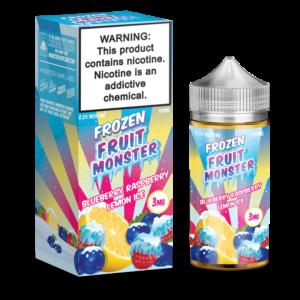 BLUEBERRY RASPBERRY LEMON ICE FROZEN FRUIT BY JAM MONSTER - 100ML