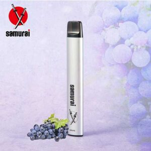 GRAPE BY Samurai Disposable Vape Kit
