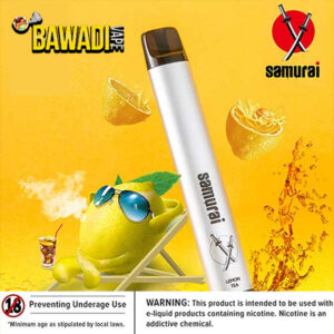LEMON TEA BY Samurai Disposable Vape Kit