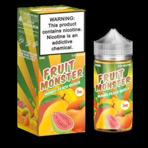 MANGO PEACH GUAVA FRUIT MONSTER BY JAM MONSTER - 100ML