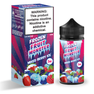 MIXED BERRY ICE FROZEN FRUIT BY JAM MONSTER - 100ML