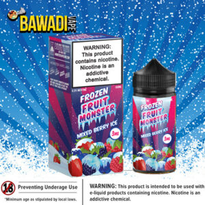 MIXED BERRY ICE FROZEN FRUIT BY JAM MONSTER – 100ML