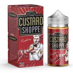 RASPBERRY THE CUSTARD SHOPPE BY JAM MONSTER - 100ML