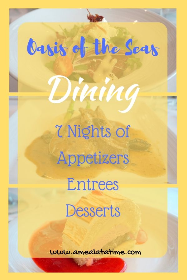 Oasis of the Seas Dining