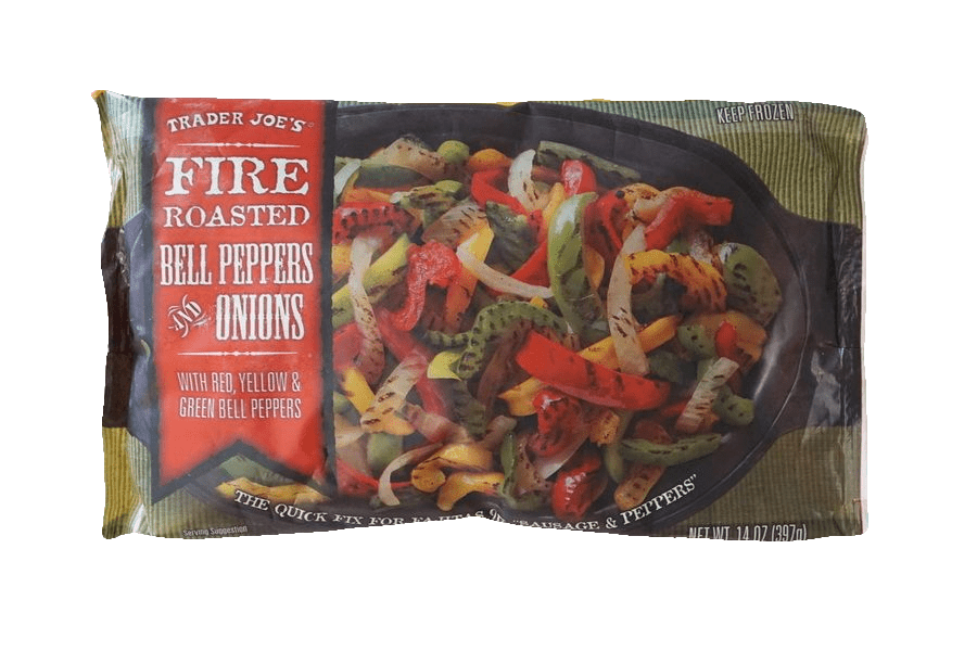 Trader Joe's Fire Roasted Bell Peppers and Onions