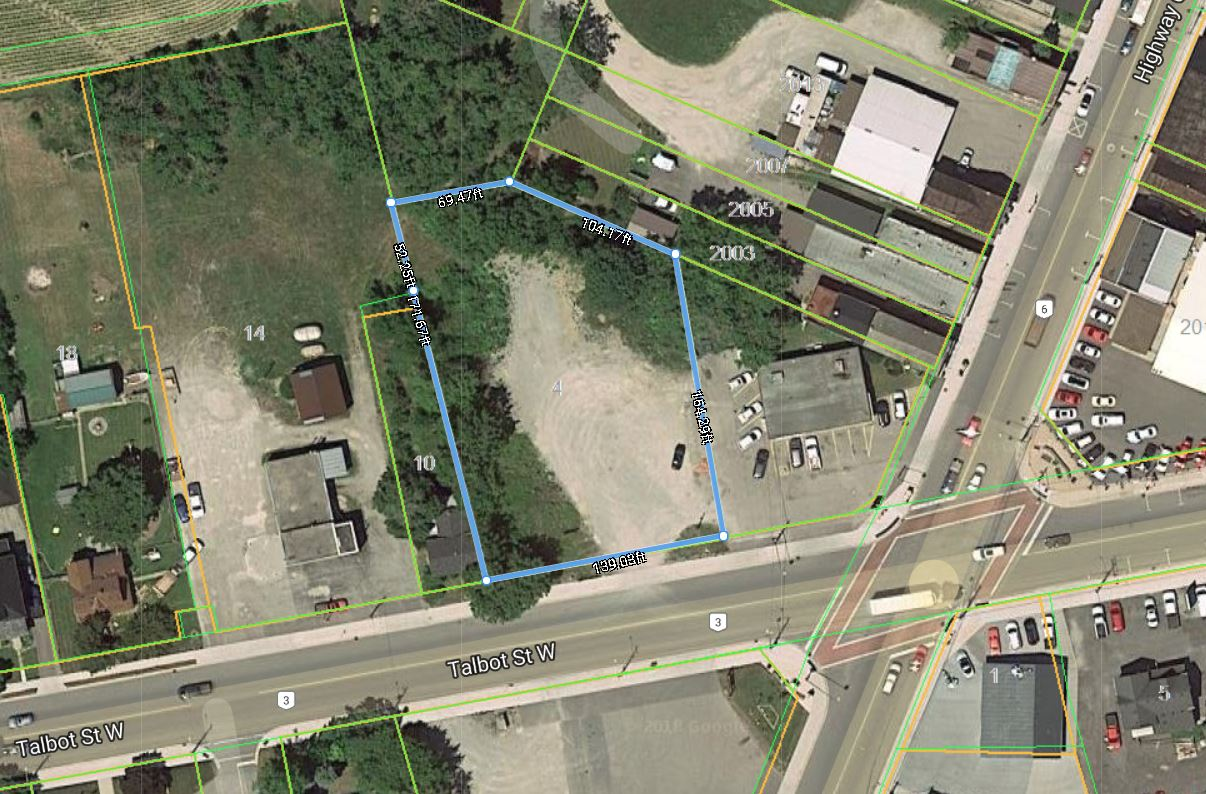 4 Talbot Street W, Jarvis | Commercial-Retail Lot SOLD