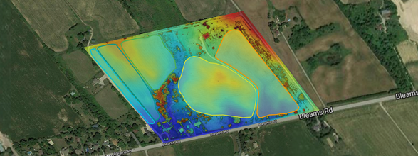 Drone Elevation Layer