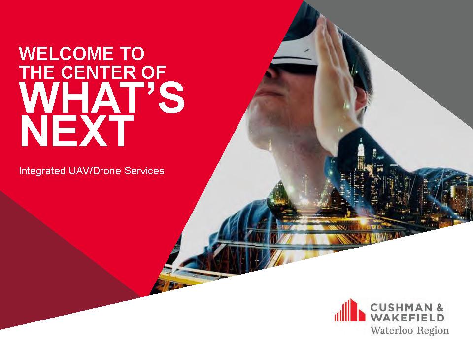 UAV Drone Services - Cushman & Wakefield Waterloo Region 201905 web_Page_01