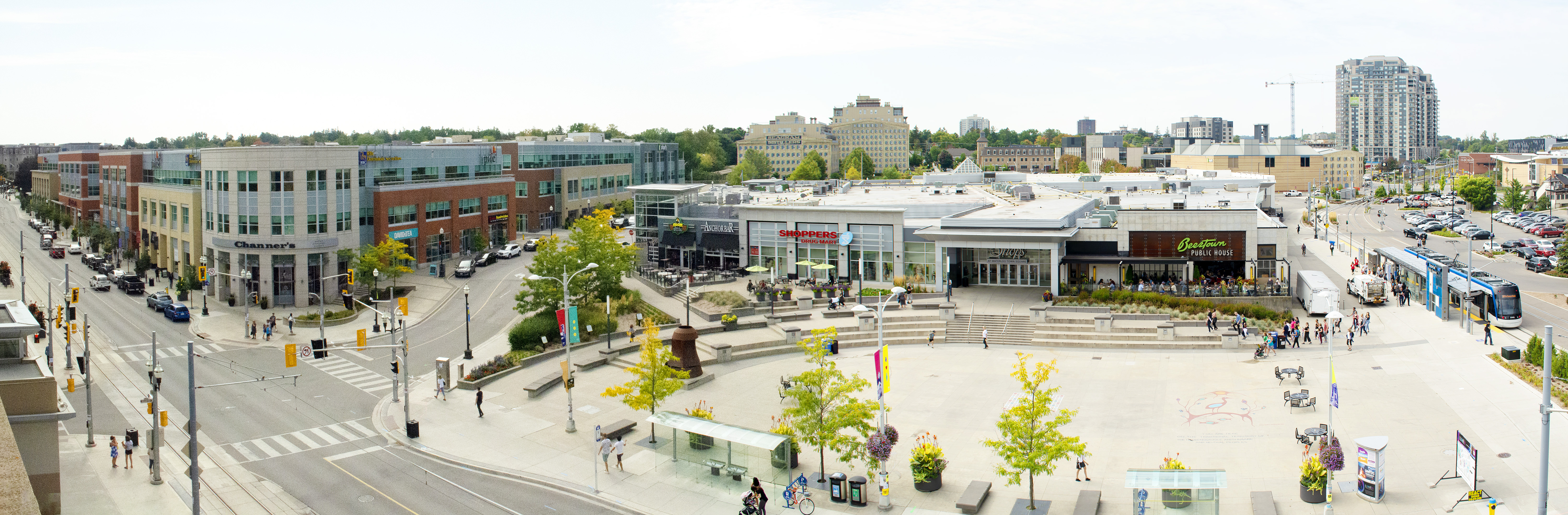 Waterloo Town Square   Retail Spaces For Lease