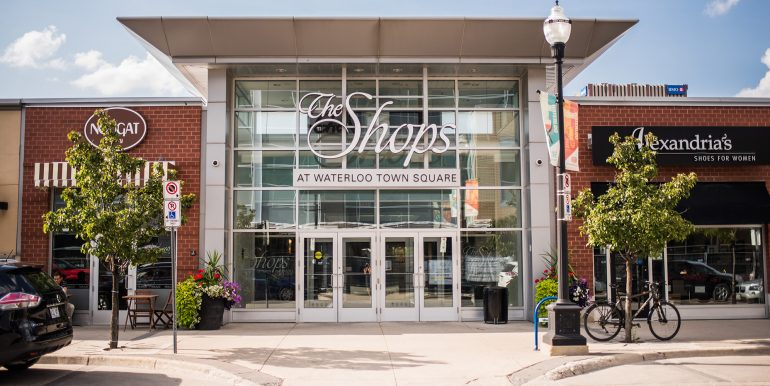 Waterloo Town Square - Entrance