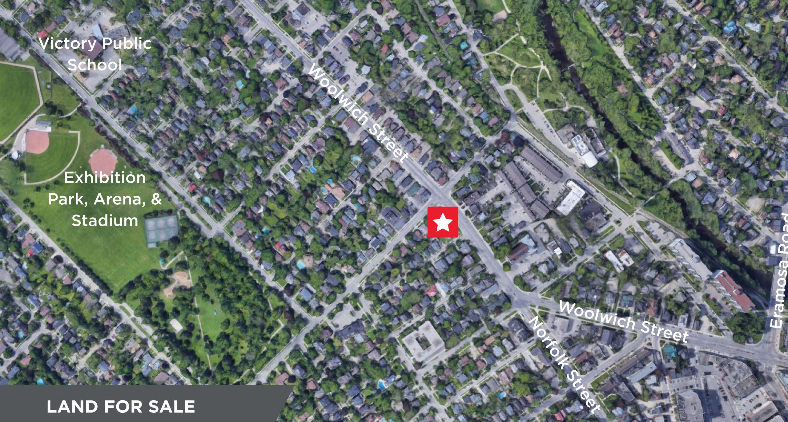 290 Woolwich Street, Guelph   Redevelopment Land Available