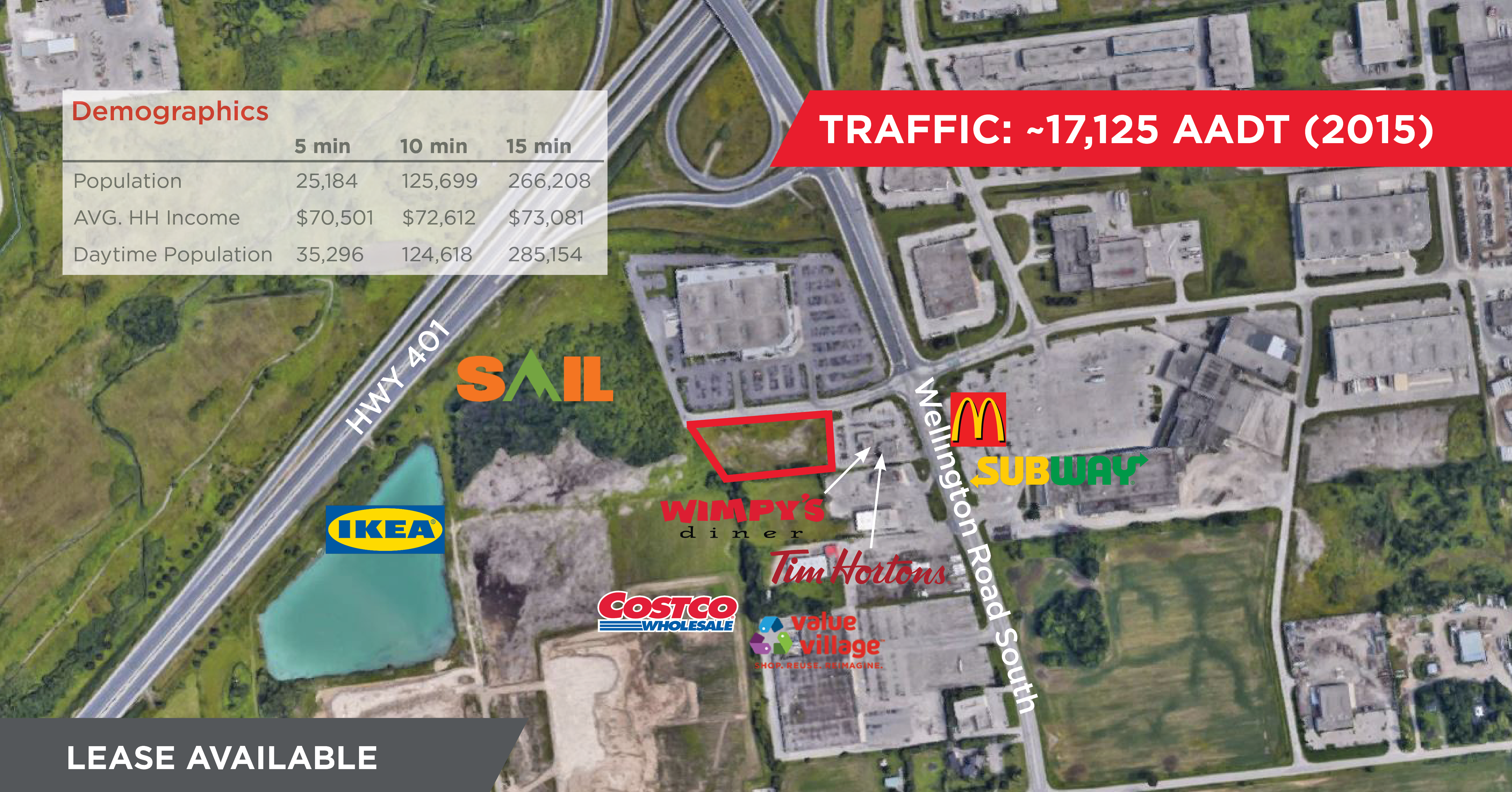 4343 Wellington Road South, London | New Retail Development for Lease