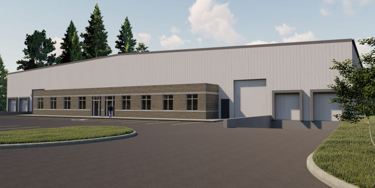 1023 industrial building render