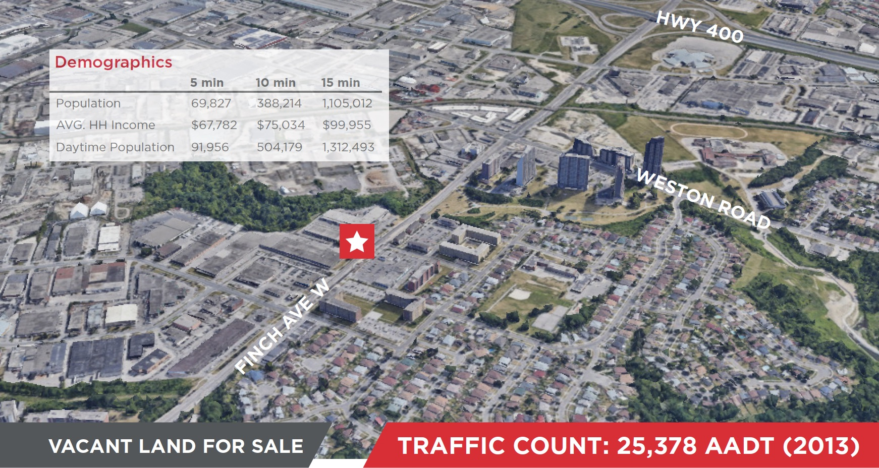 2410 Finch Avenue W, Toronto | Investment Vacant Land Available