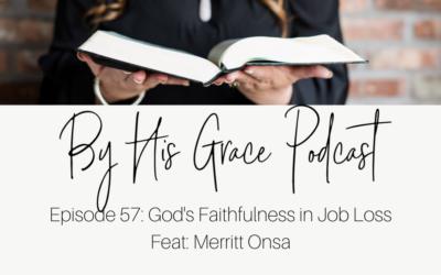 Merritt Onsa: God's Faithfulness in Job Loss