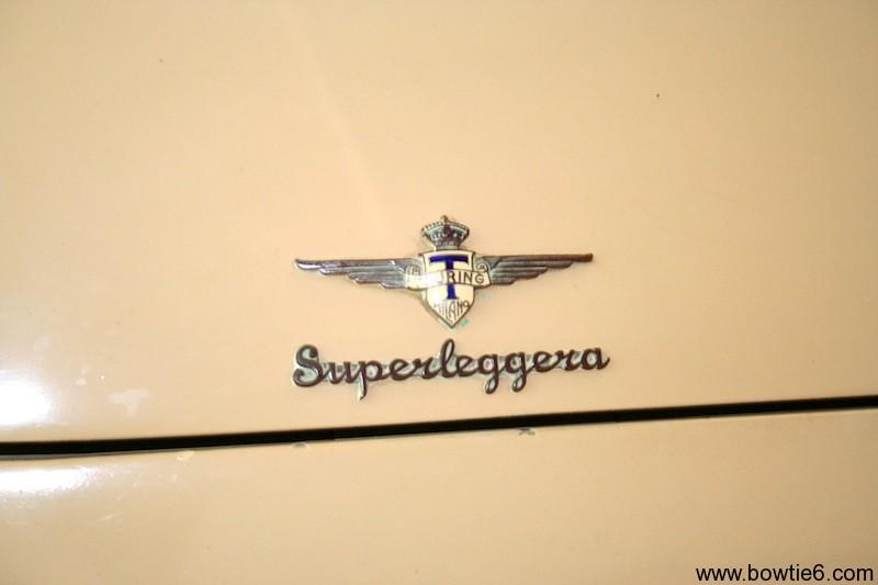 Hudson Italia Superleggera Hood Emblem