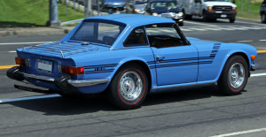 1975 Triumph TR6 With Go Faster Stripes