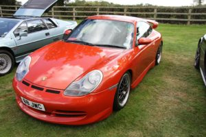 Optimizing the Aerodynamic Balance of your Car: Red Porsche 996 GT3