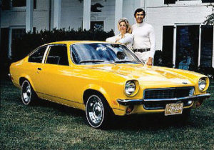 John Delorean and 1971 Vega 2300