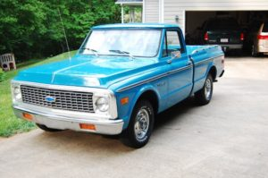 Old Chevy Truck: Comparison of Diesel and Gasoline Engines