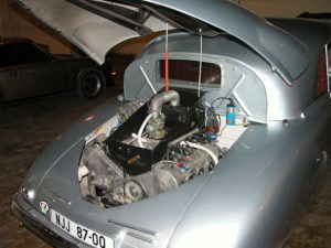 1947 Tatra T87 Saloon Engine Compartment